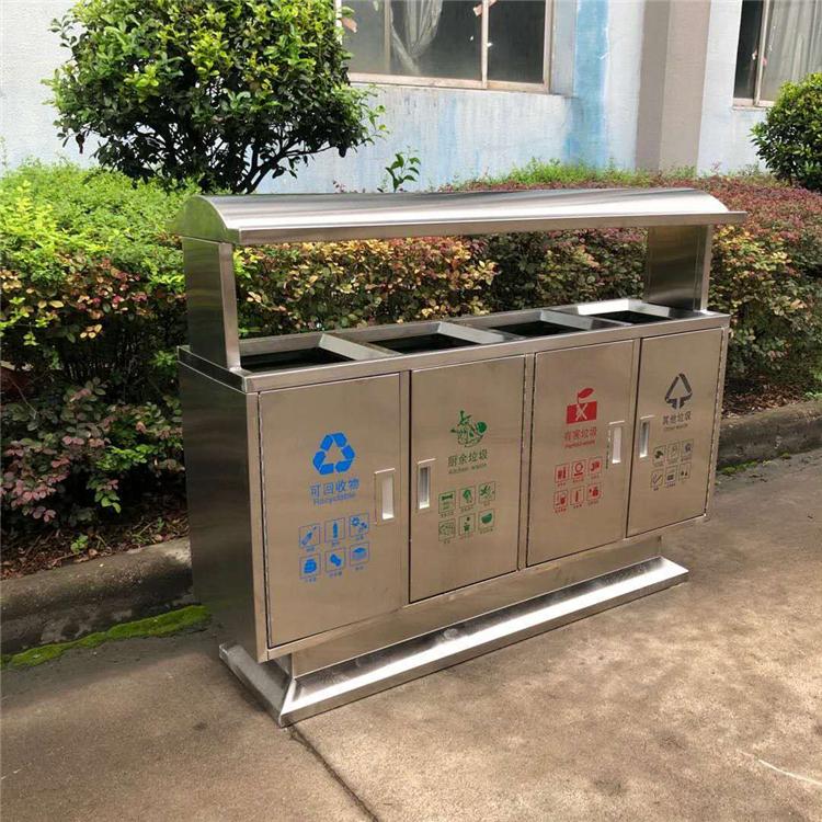 不锈钢垃圾箱 户外垃圾箱 移动垃圾箱  垃圾箱批发厂家
