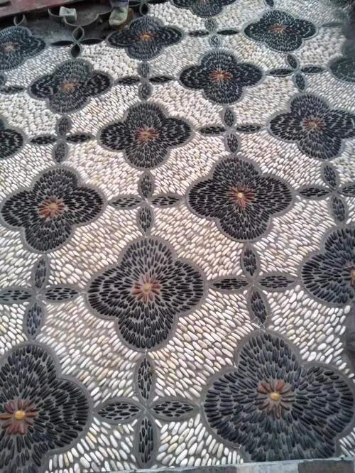 厂家直销鹅卵石优质雨花石 抛光鹅卵石 园林铺路造景鹅卵石