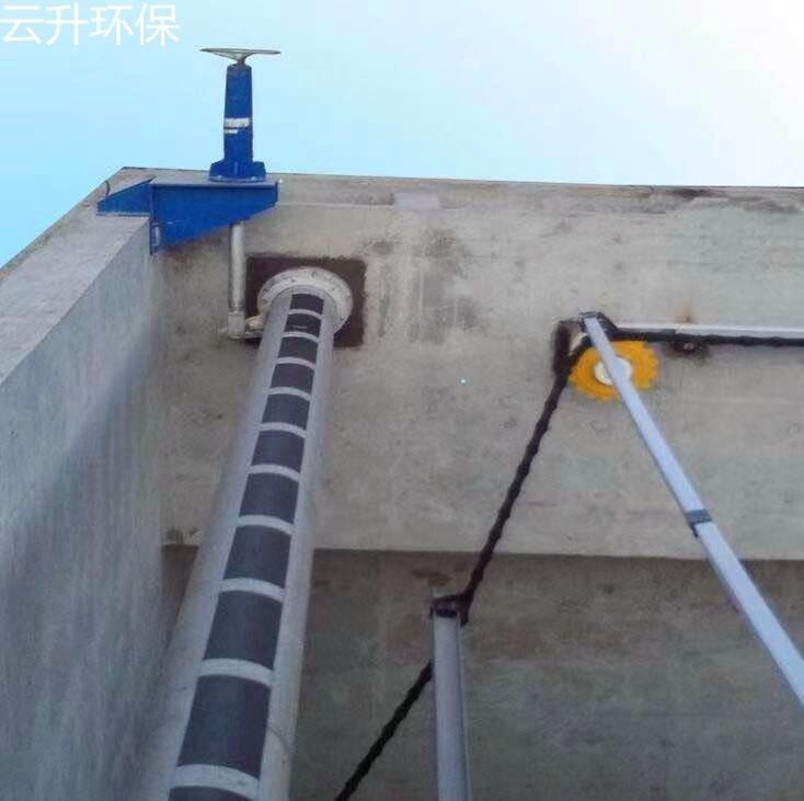 江苏厂家 新型撇渣管 旋转式撇渣管 手动撇渣管 电动撇渣管