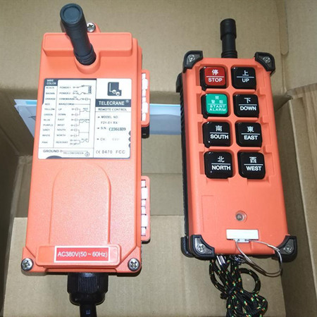 厂家生产起重机遥控器 航吊天车单梁行车遥控器 工业无线遥控器 现货供应 货源充足