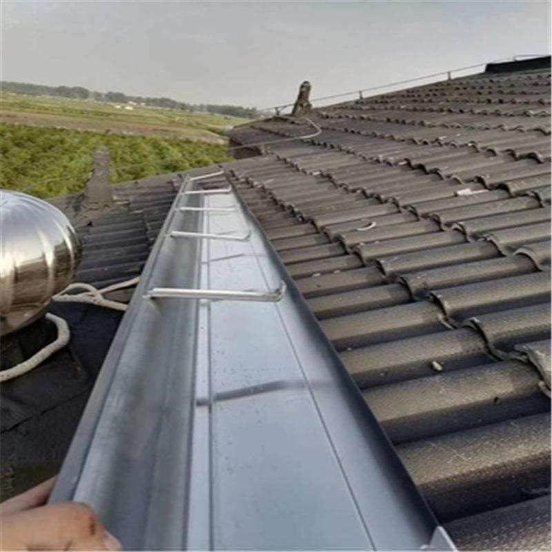 昱隆腾屋顶天沟 定制铝合金天沟 定制铜排水