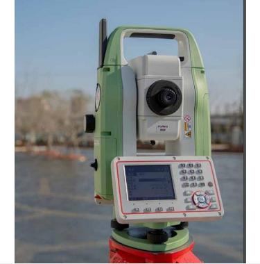 徕卡TZ08全站仪 自动量高 互联网数据通讯 免棱镜1000米高精度1秒全站仪