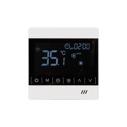 有线壁挂炉温控器 智能无线控制面板威能博世 wifi远程控制天猫精灵智能温控器