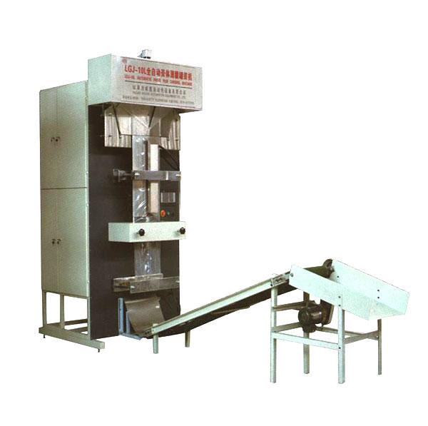 全自动胶水薄膜灌装机-LGJ-10L全自动流体薄膜灌装机