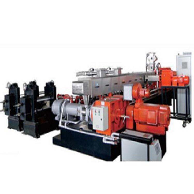 双螺杆造粒机 橡胶脱挥机组设备 厂家直销 价格优惠  TSH65 降解料造粒机