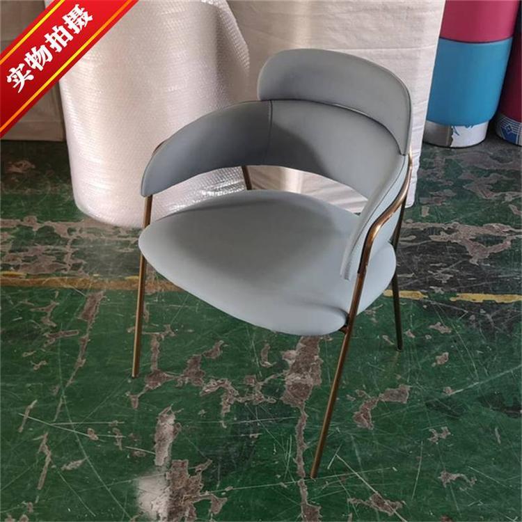 工业风铁艺家具 美式工业风铁质西点店椅子
