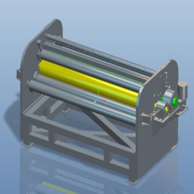 高分子板材覆膜机