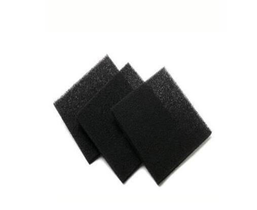 厂家定制防尘除味聚氨酯活性炭海绵-阻燃蜂窝状活性炭过滤棉   蜂窝状活性炭滤网   蜂窝状活性炭滤网厂家