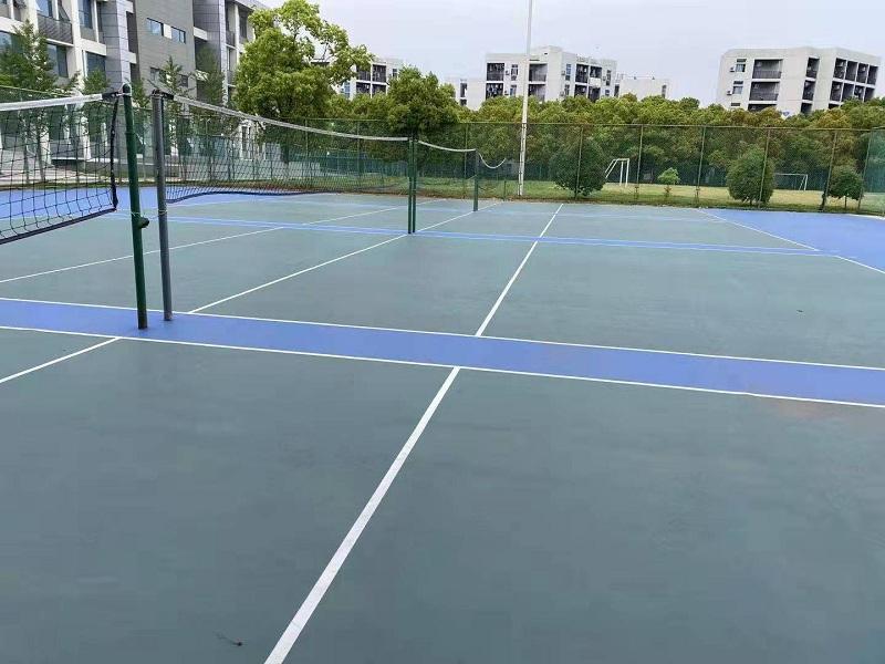 排球场地 免费设计报价 专业施工 南京晨阳体育设施