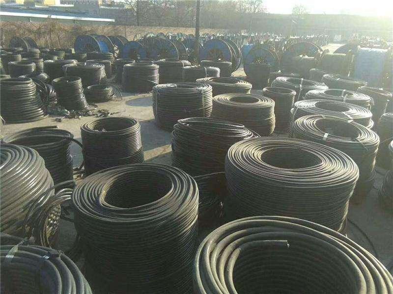 中升废电缆电线回收价钱 电缆高价回收 钢绞线回收厂家