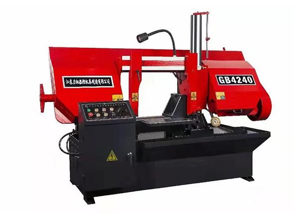江苏力驰数控机床 金属带锯床 GB4265半自动大型龙门带锯床厂家现货