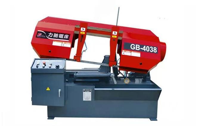 现货直销 GB4250半自动带锯床 旋转卧式带锯床 双油缸控制 操作平稳