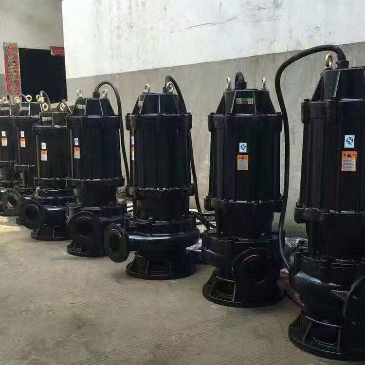 15千瓦QW系列排污泵,无堵塞排污泵,流量大