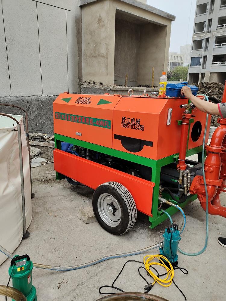 水泥石膏机自流平输送泵 修江机械