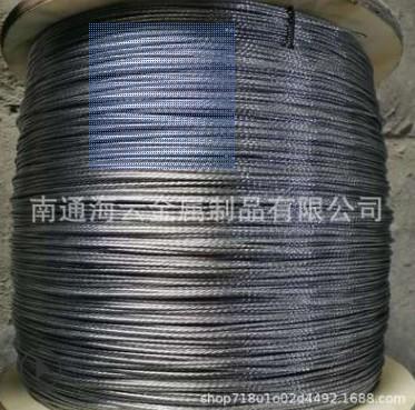 搭大棚钢丝绳,搭葡萄架钢丝绳 热镀锌钢绞线 可定制