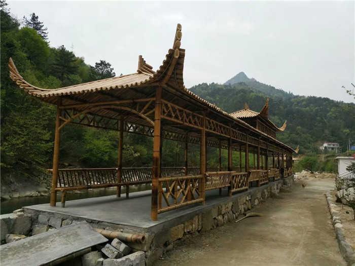竹长廊 猎神竹