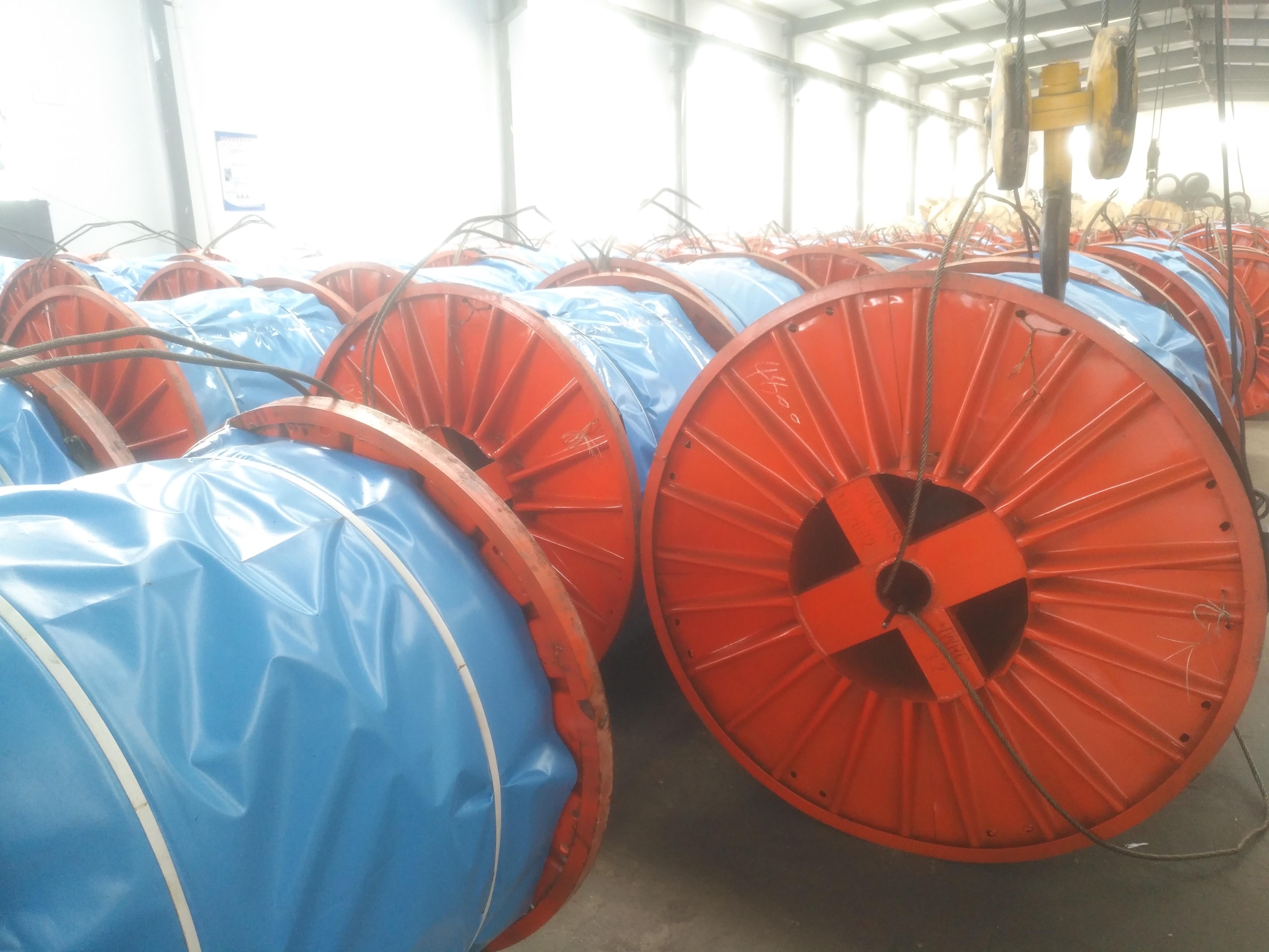 钢丝绳厂家 打桩机扁钢丝绳 6K36WS+IWR-26 涂油 可截零 强夯机冲击钻钢丝绳