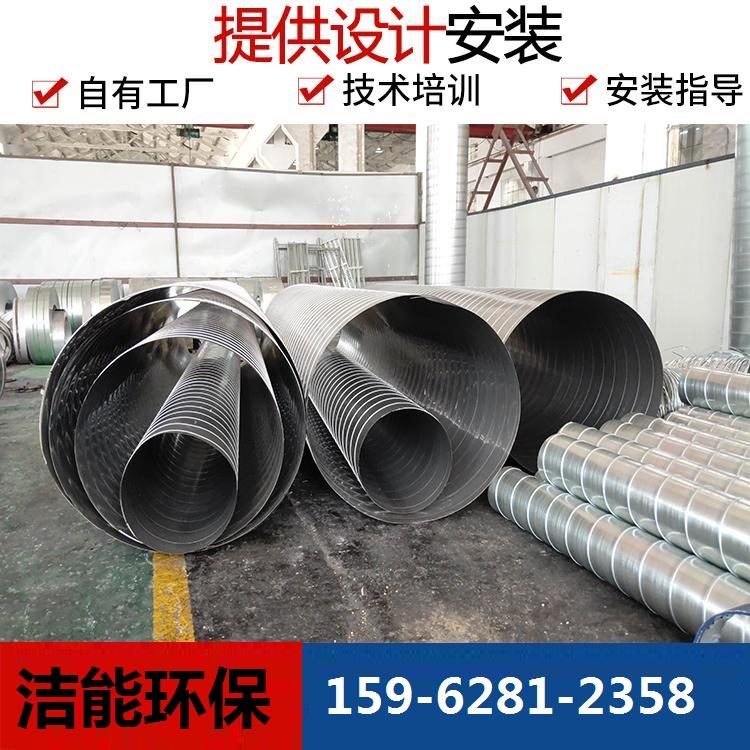 白铁加工厂家 南通专业承接不锈钢通风管道 通风管道安装