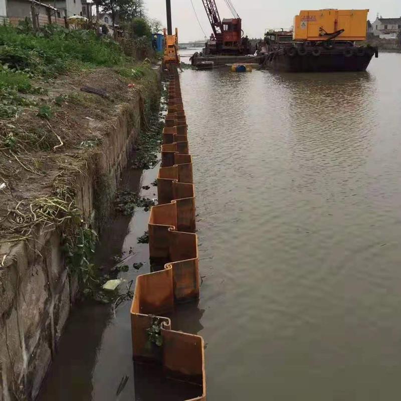钢板桩租赁  南京钢板桩租赁 U型钢板桩