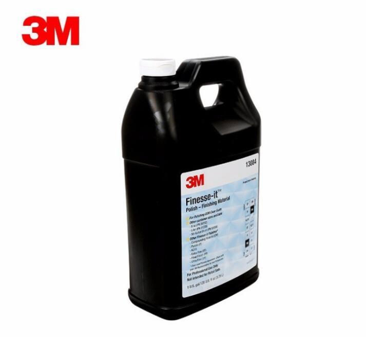 3M 13084 抛光液 研磨液 3.78L/瓶 打磨 汽车美容 去划痕