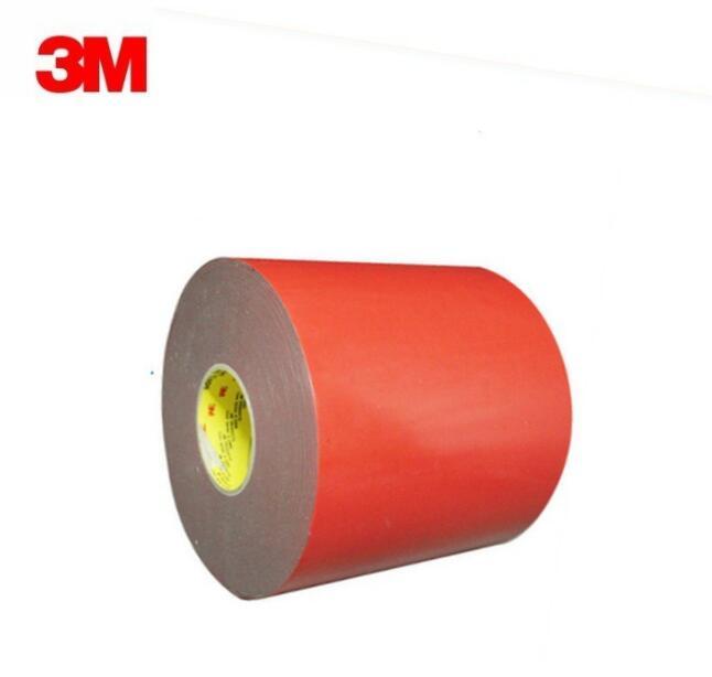供应3M 5314 VHB双面胶带 汽车胶带 红膜泡棉胶带