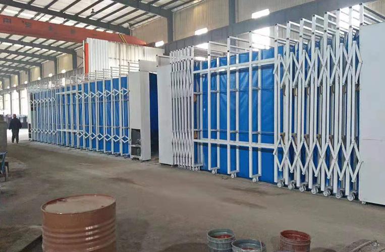 伸缩移动喷漆房 移动伸缩式喷漆房 厂家直销 专业定制