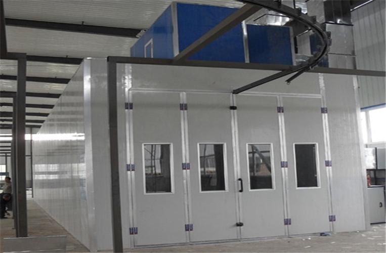 专业制作环保 移动伸缩喷漆房 械设备喷漆房 按需定制