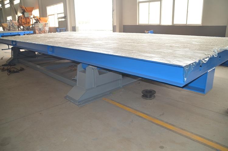 预制构件生产线模台 多功能翻转模台生产线  流水线模台 固定模台 支持定制 厂家直销