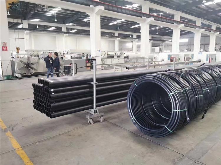 非开挖用聚乙烯PE 牵引管价格  牵引管厂家  南京排污管道