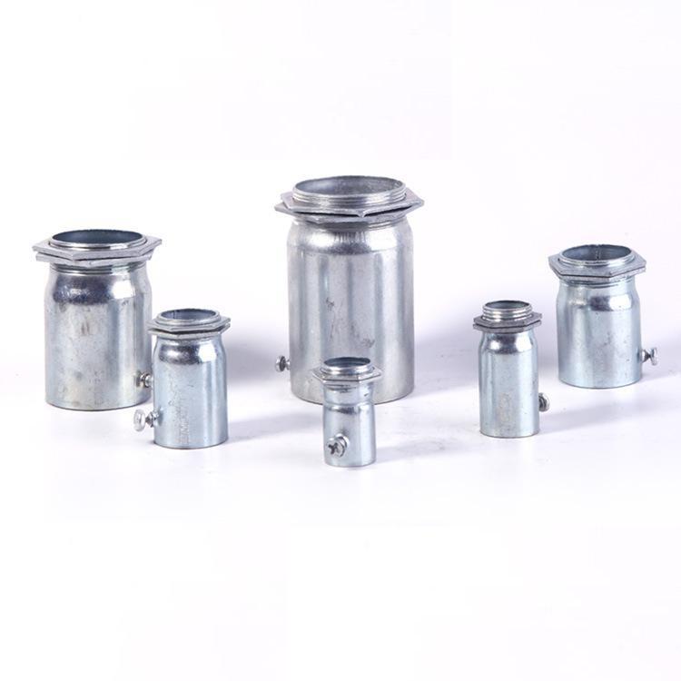 铝合金穿线JDG线管接头 厂家批发电缆管接头镀锌线管配件