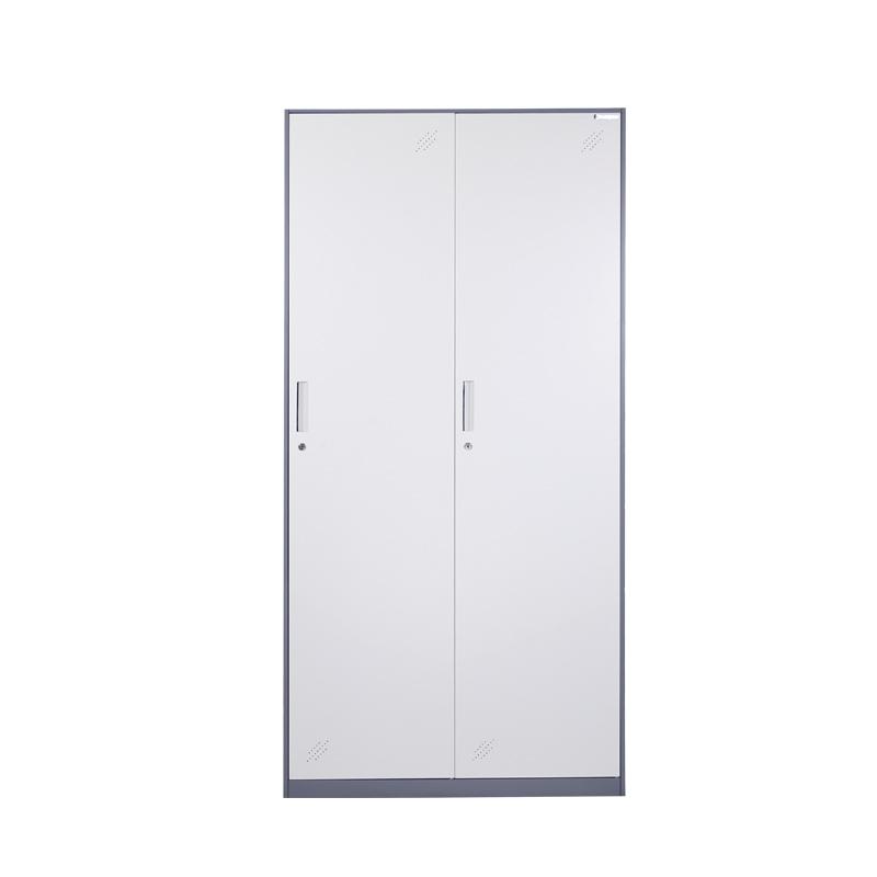 现代简约金属类两门式三门式及多门式员工办公更衣柜定制批发 厂家直销