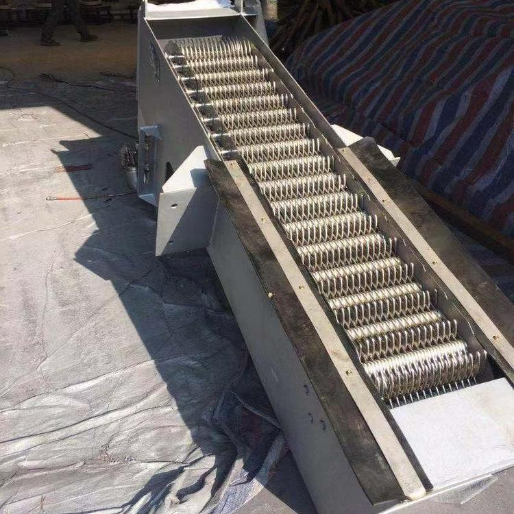 南京蓝污厂家直销齿耙不锈钢机 械除污机 定制回转式机械格栅