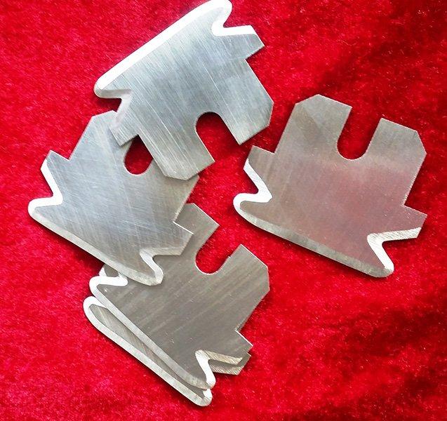 封口齿切刀 包装机刀片 异型刀片 包装袋刀片 工业刀片