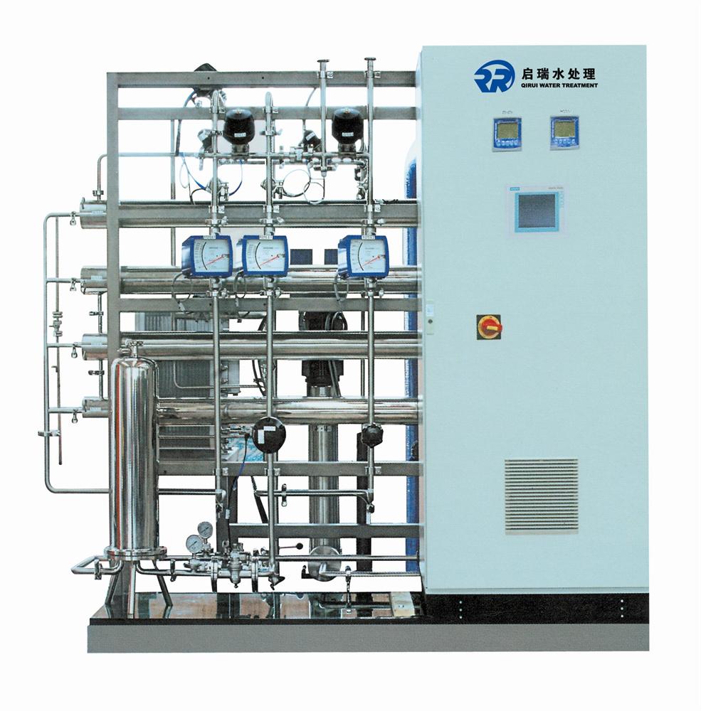 二级反渗透设备厂家直销  工业纯水机带EDI系统  全自动24小时出水