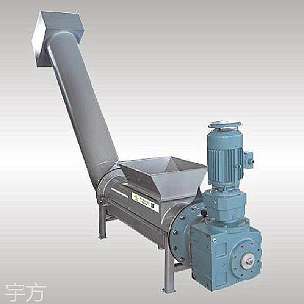 江苏厂家直销无轴螺旋输送压实一体机 全系WLSY型不锈钢无轴螺旋输送压实一体机定制
