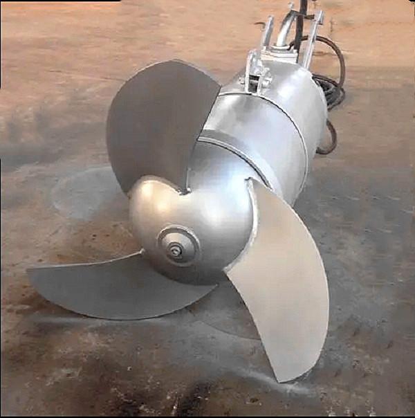 江苏厂家直销污水处理固体液体混合不锈钢潜水搅拌机 QJB型全系不锈钢潜水搅拌机定制