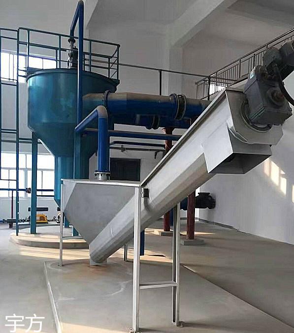 砂水分离器价格 螺旋式砂水分离器 LSSF型螺旋式砂水分离器定制 南京宇方不锈钢砂水分离器厂家