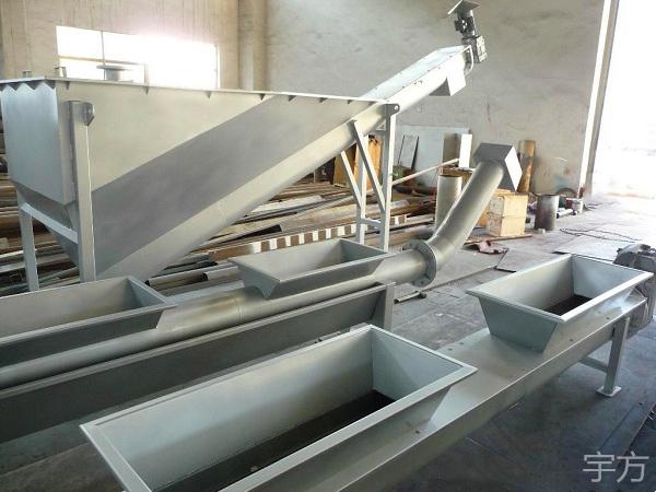 现货供应不锈钢螺旋式砂水分离器 无轴螺旋式砂水分离器定制 宇方砂水分离器厂家