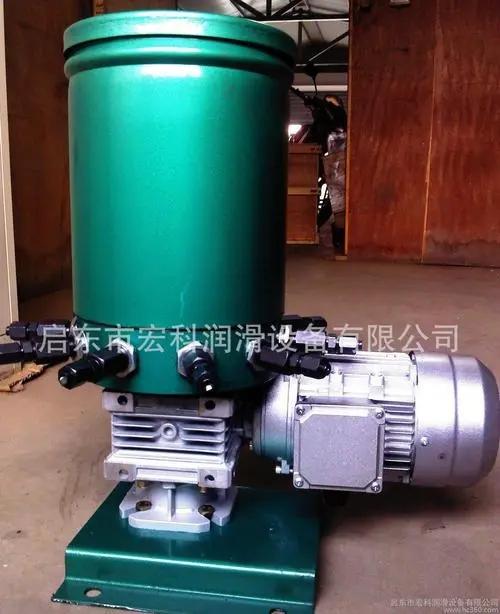 干油多点稀油润滑泵,专业生产,值得信赖--推荐启东宏科
