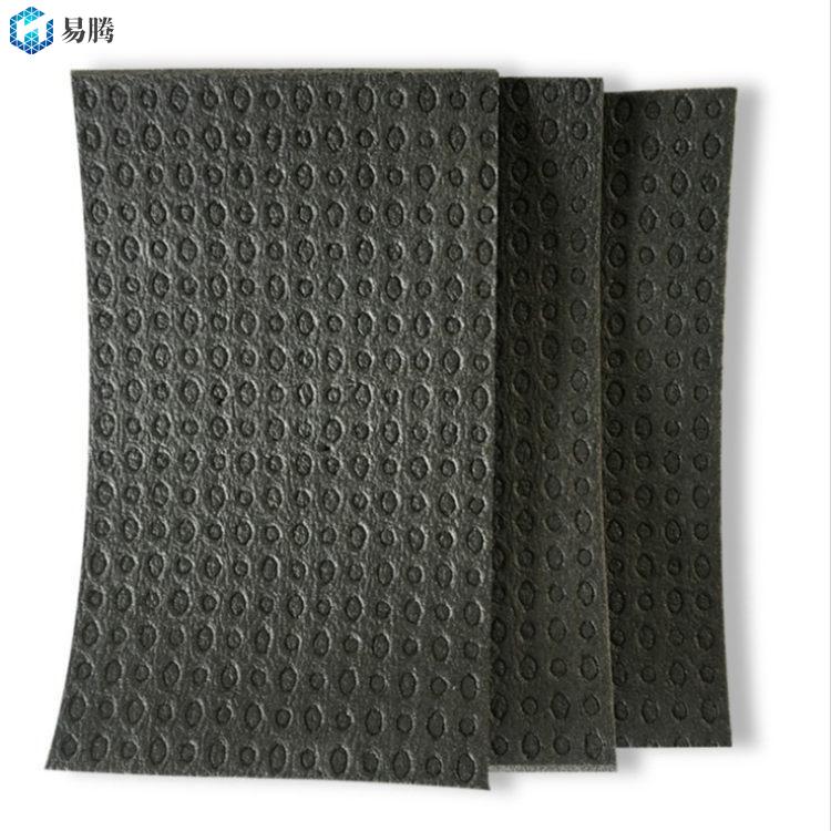 6mm难燃型聚乙烯蜂窝复合卷材 改性聚乙烯芯材 分户楼板隔声保温材料