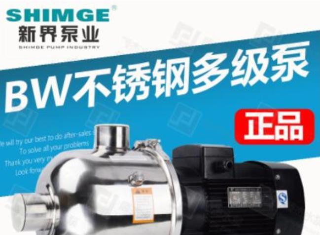 新界变频增压泵 BW2-4 酒店宾馆恒压供水稳压泵