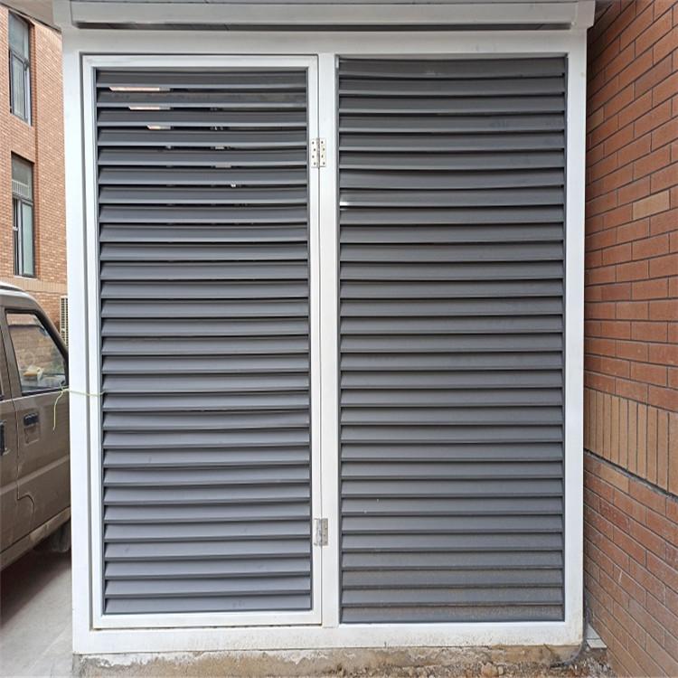 空调防雨百叶窗 空调百叶窗生产厂家 质量有保障 价格精美